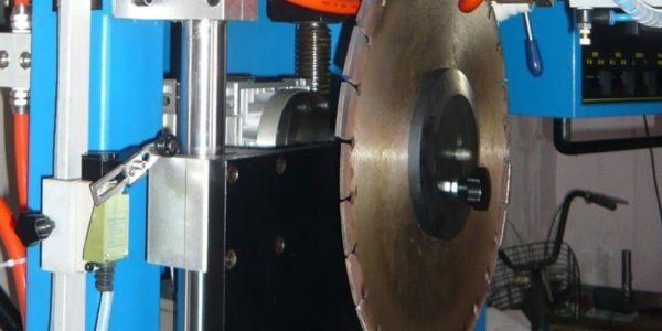 Пайка индуктором алмазного сегмента на корпус диска